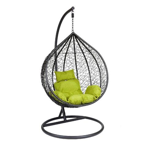 Подвесное кресло Z-03 (A) (цвет black, подушка green)