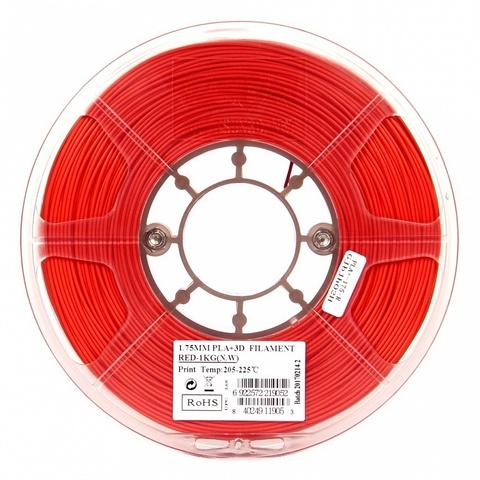 ESUN PLA+ 1.75 мм 1кг., красный