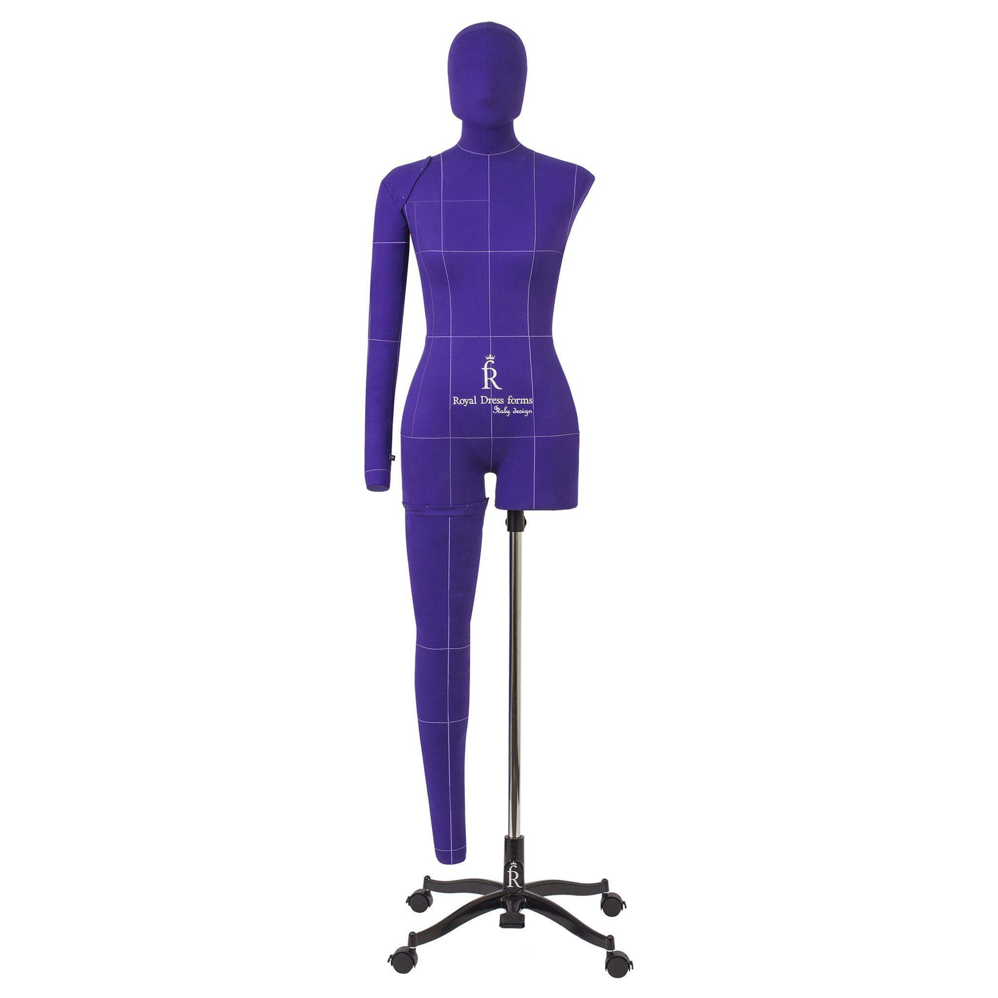 Манекен портновский Моника, комплект Арт, размер 52, ФиолетовыйФото 3
