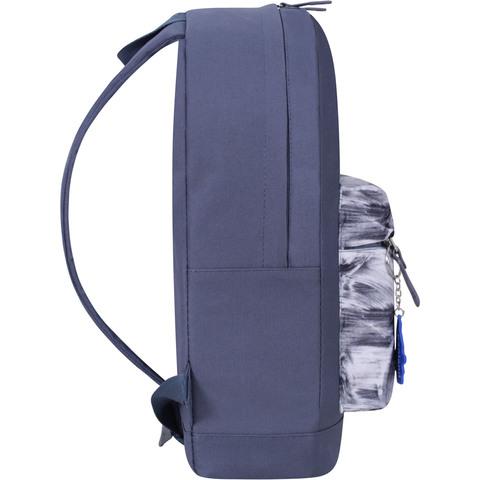 Рюкзак Bagland Молодежный W/R 17 л. Серый 968 (00533662)