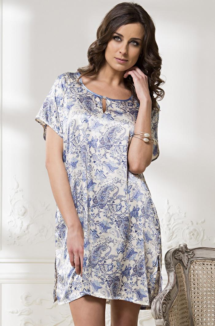 Сорочки ночные женские Туника женская шелковая MIA-Amore   Дольче Вита  5915 5915.jpg
