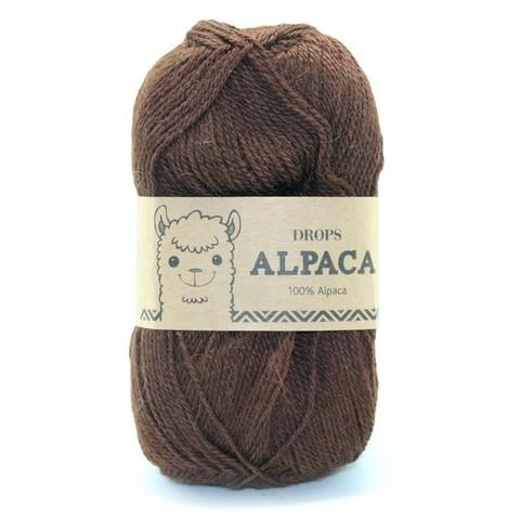 Пряжа Drops Alpaca 0403 светло-коричневый