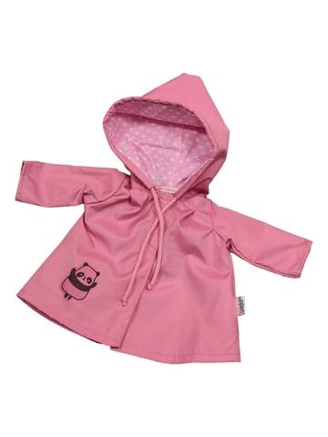 Плащ с аппликацией - Розовый. Одежда для кукол, пупсов и мягких игрушек.