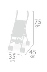 DeCuevas Коляска-трость серии Мартина, 75см (90133)