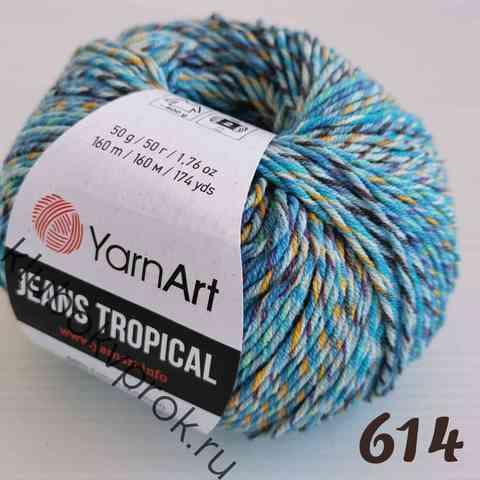 YARNART JEANS TROPICAL 614,