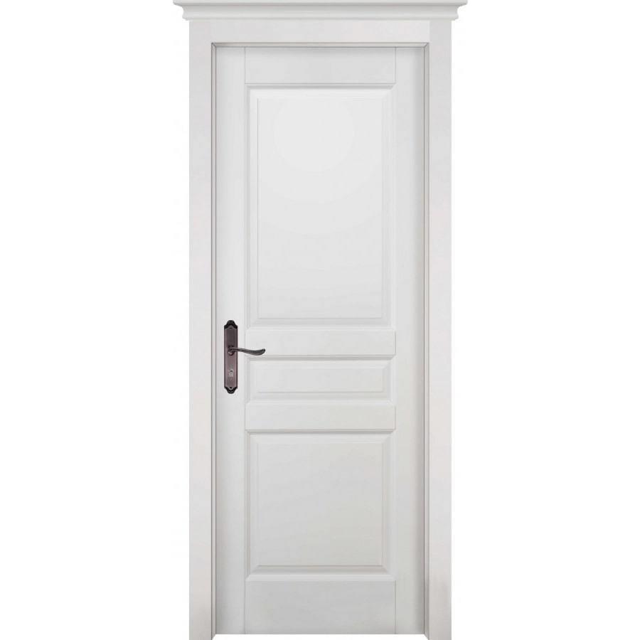 Двери ОКА Межкомнатная дверь массив ольхи ОКА Валенсия белая эмаль глухая venecia-belaya-min.jpg