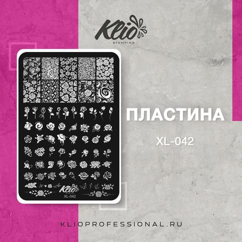 ПЛАСТИНА ДЛЯ СТЕМПИНГА KLIO PROFESSIONAL XL-042