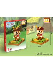 Конструктор LNO Супер Марио Пчела 1701 деталь NO. 158 Super Mario Bee Gift Series