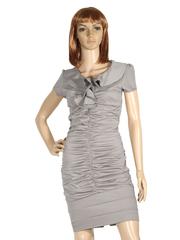 M12 платье серое