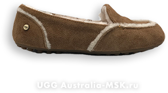 UGG Women Loafed Slippers Hailey Brown