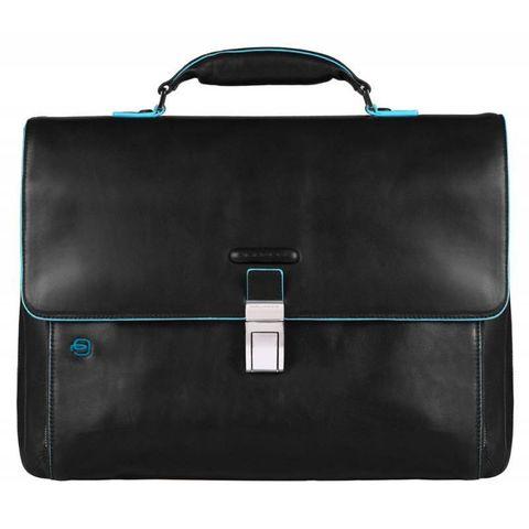 Портфель Piquadro Blue Square (CA3111B2/N) черный кожа/нейлон