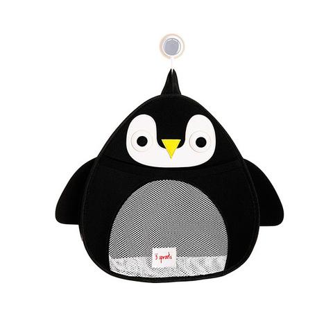 Органайзер для ванной 3 Sprouts Пингвин (чёрный)