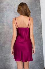 Сорочка натуральный шелк Mia-Mia вишневая