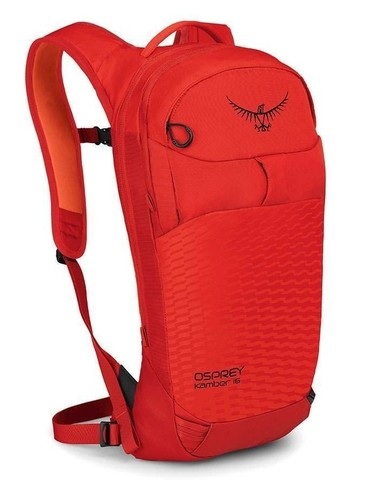 Картинка рюкзак горнолыжный Osprey Kamber 16 Ripcord Red - 1