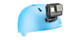 Крепления на шлем GoPro Helmet Front + Side Mount (AHFSM-001) на шлеме спереди с камерой
