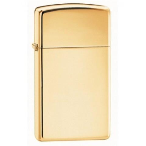 Зажигалка Zippo 1654B Slim High Polish Brass