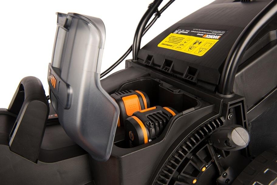 Газонокосилка аккумуляторная WORX WG744E 40В