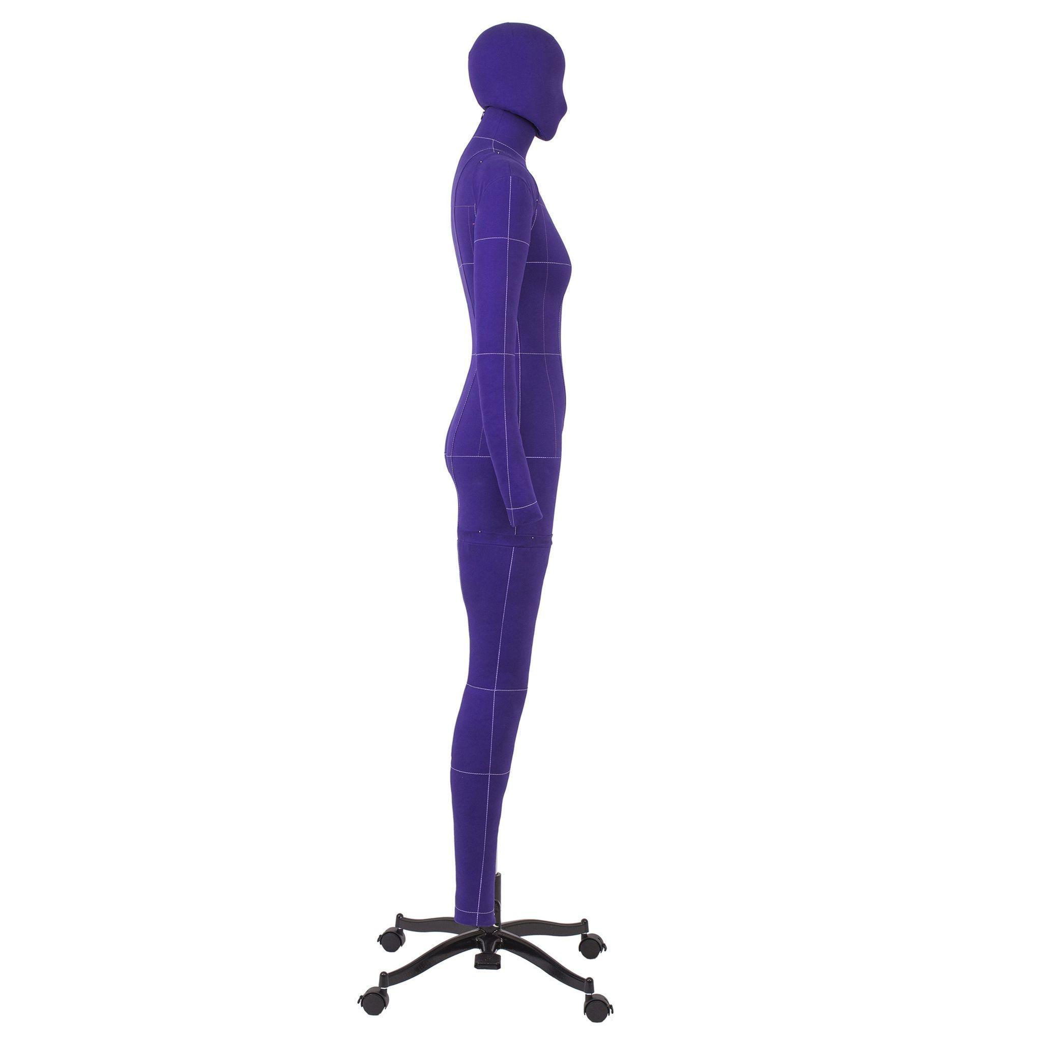 Манекен портновский Моника, комплект Арт, размер 52, ФиолетовыйФото 4