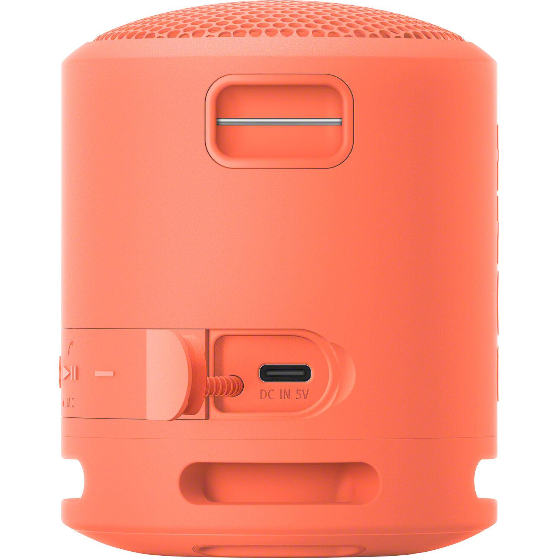 Интерфейс беспроводной колонки Sony SRS-XB13P розового цвета