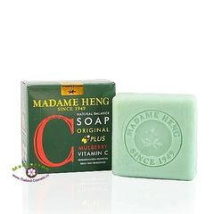 Мыло натуральное с шелковицей и витамином C, Madame Heng