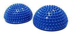 Полусфера Original FitTools массажно-балансировочная (набор 2 шт) синий - 2