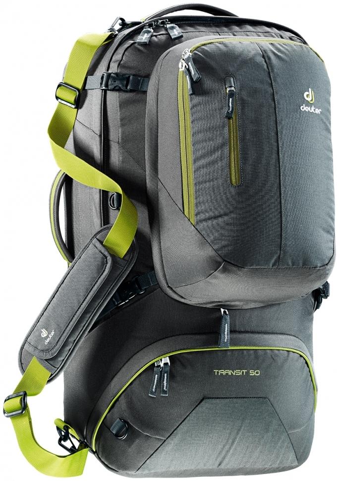 Сумки-рюкзаки Рюкзак-сумка для путешествий Deuter Transit 50 686xauto-9076-Transit50-4220-17.jpg