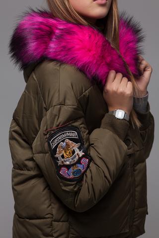 Куртка из плащевки на холлофайбере купить
