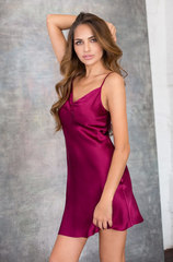 Сорочка Mia-Mia вишневый шелк 15140