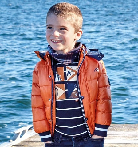 Куртка Mayoral Оранжевая Еврозима