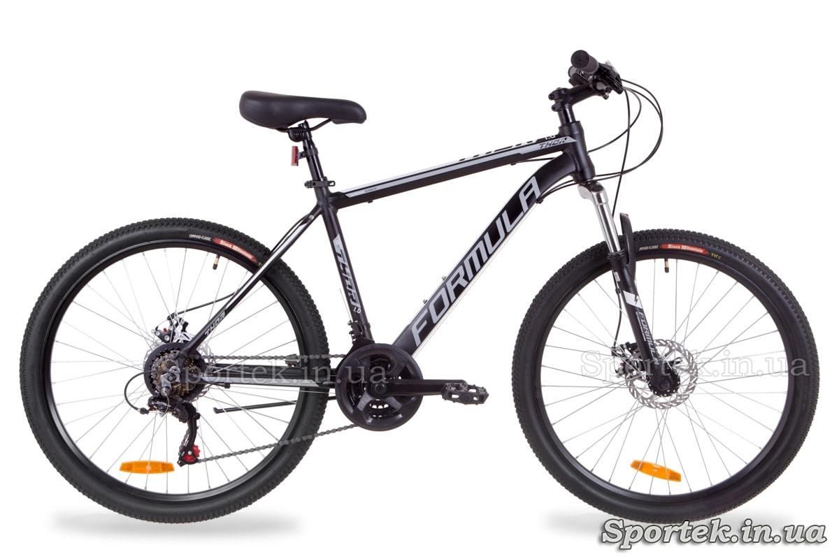 Горный алюминиевый велосипед Formula Thor 1.0 - черно-серый с белым