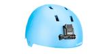 Крепления на шлем GoPro Helmet Front + Side Mount (AHFSM-001) на шлеме спереди вид справа