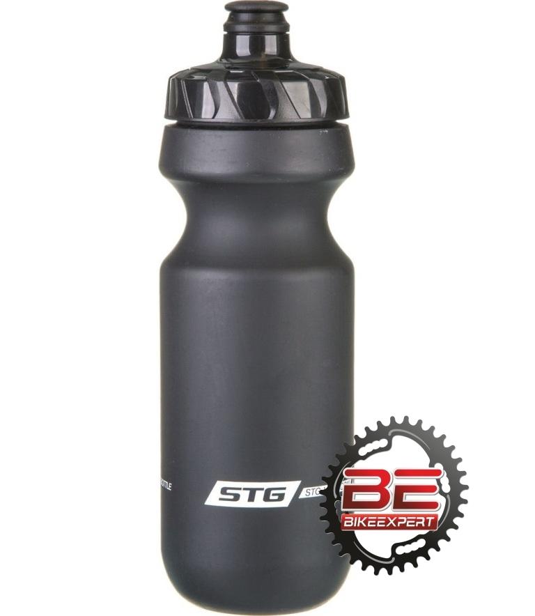 Фляга для воды STG 600мл без крышки черная