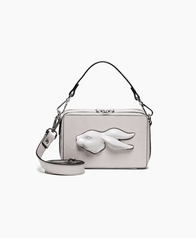 Прямоугольная сумка Rabbit Head Napa Pearl
