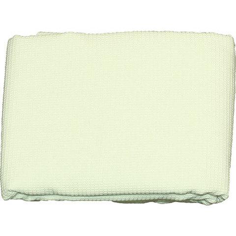 Простыня для бани и сауны вафельная белая (мелкая клетка), 180 х 150 см