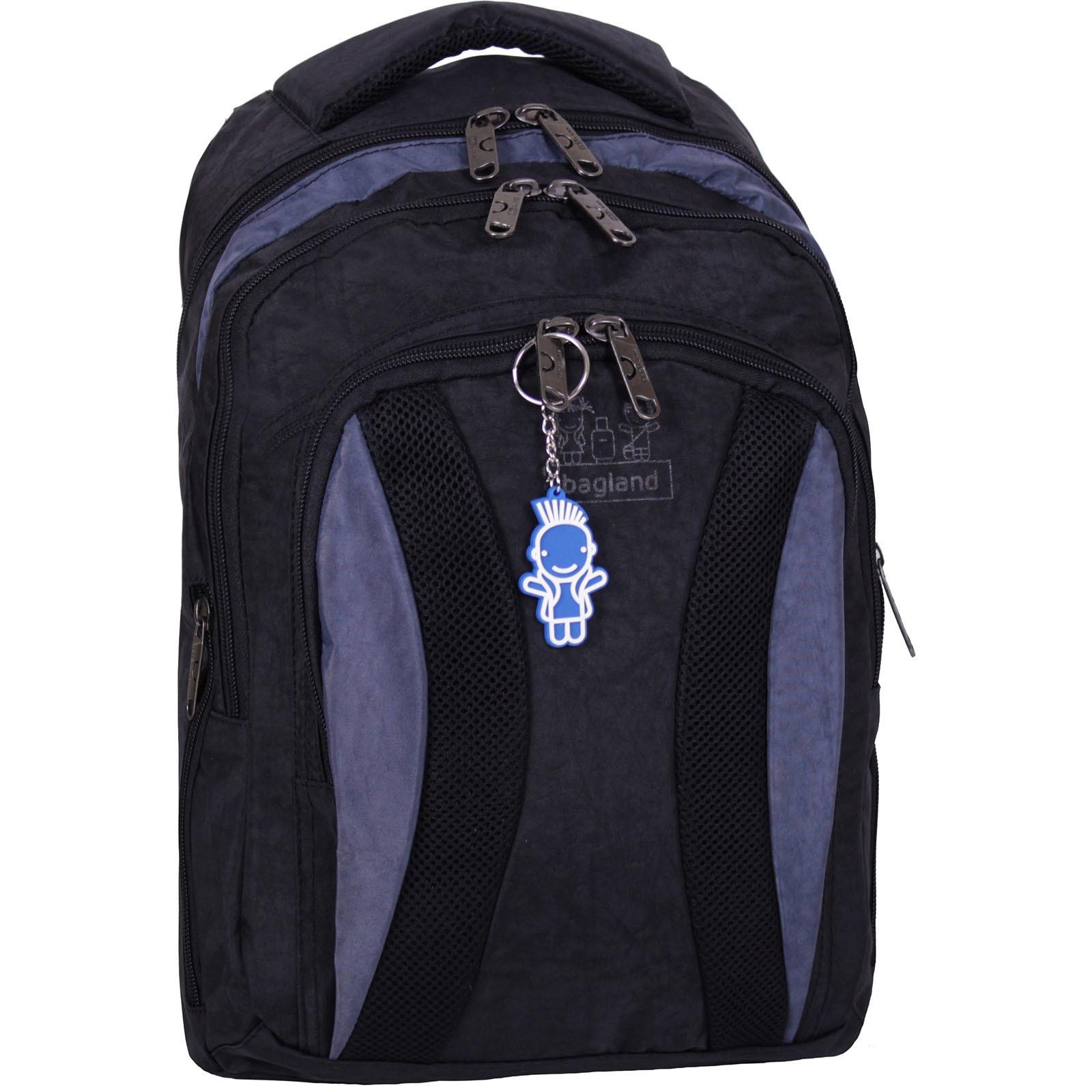 Городские рюкзаки Рюкзак Bagland Драйв 29 л. Чёрный / серый (0018970) IMG_2166.JPG
