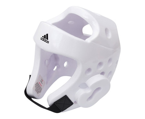 Шлем для тхэквондо Head Guard Dip Foam WT белый