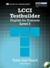 LCCI Testbuilder 2 + Audio CD Pack