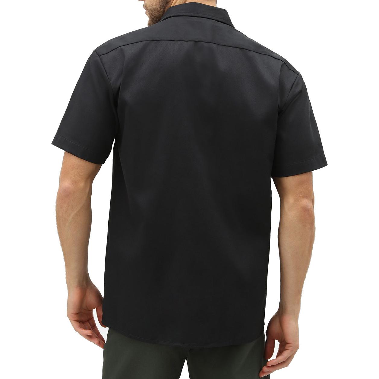 Рубашка DICKIES Short Sleeve Work Shirt (Black)