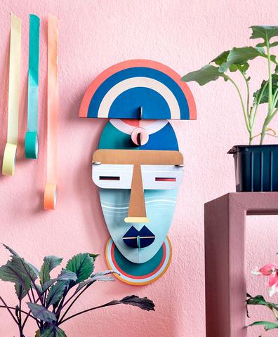 Декоративная бумажная маска Brooklyn