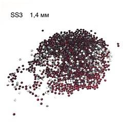 Стразы красные Crystal Swarovski SS3 (1.3 мм))
