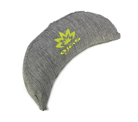 Подушка-полумесяц для медитации Lotus 38*15 см