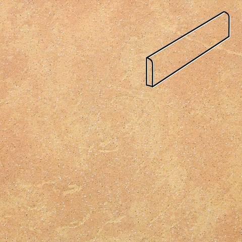 Stroeher - Keraplatte Roccia 834 giallo 294х73х8 артикул 8108 - Клинкерный плинтус