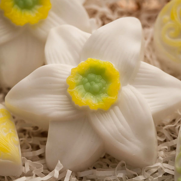 Мыло Нарцисс. Форма пластиковая