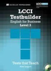 LCCI Testbuilder 3 + Audio CD Pack