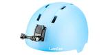 Крепления на шлем GoPro Helmet Front + Side Mount (AHFSM-001) на шлеме спереди вид слева
