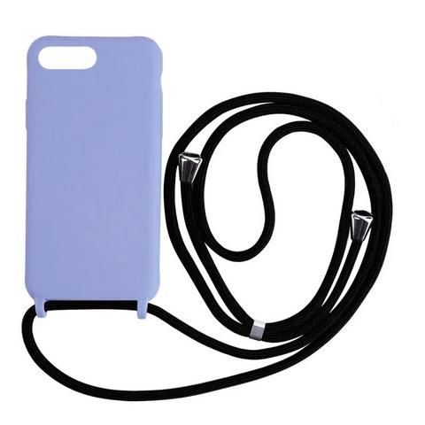 Чехол iPhone 7/8 Plus Silicone Case crossbody bag /glycine/
