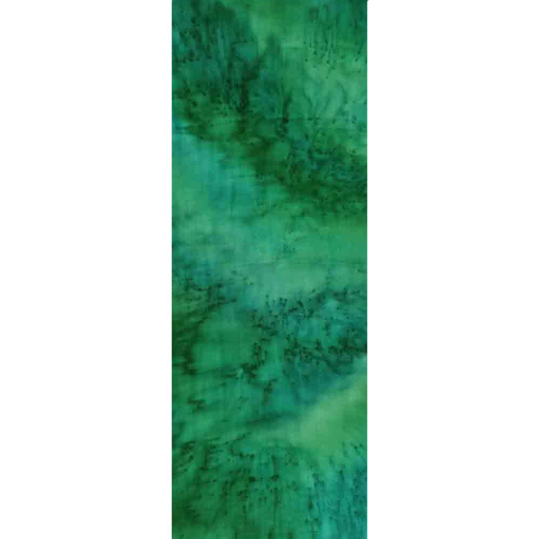 Палантин батик Зеленый - соль С-76-ш