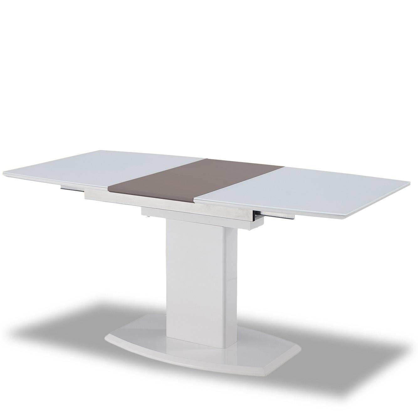 Стол ESF DT2017-6 white-белый (120см)