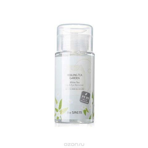 Жидкость для снятия макияжа с глаз и губ Healing Tea Garden White Tea Lip eyes Remover 150 мл