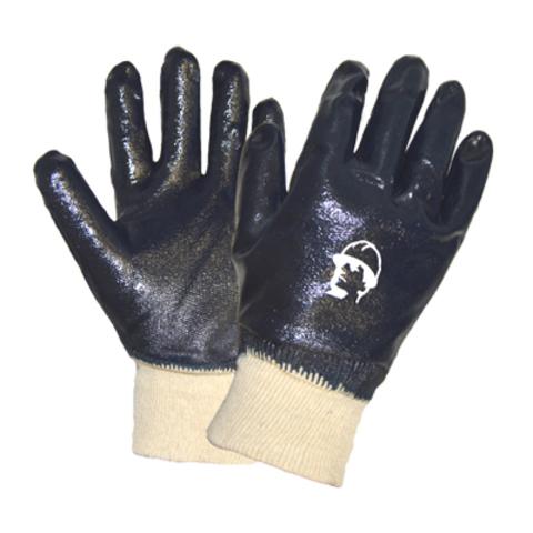 Перчатки ХБ с нитриловым покрытием резинка